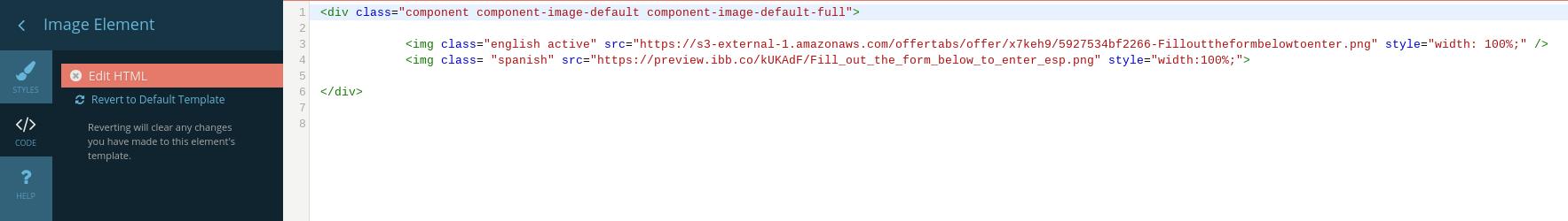 Multilanguage html