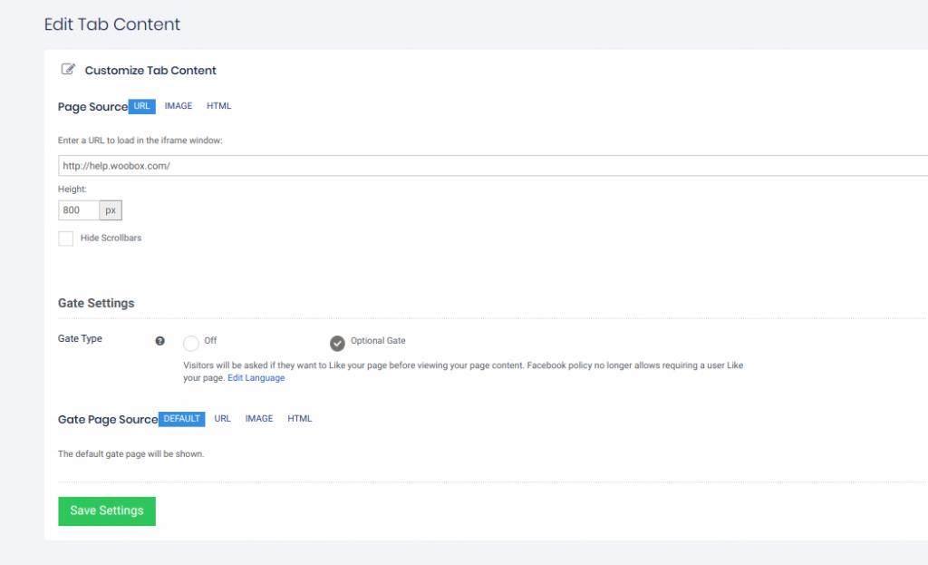 Edit HTML tab 2020