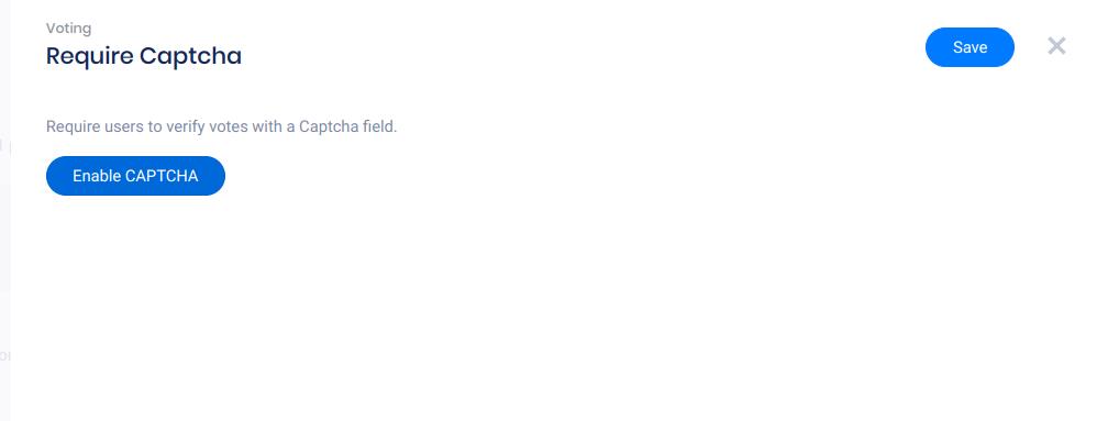 Updated captcha field