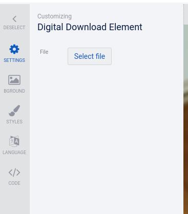 Add digital download