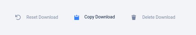 Media giveaway - reset, copy, delete