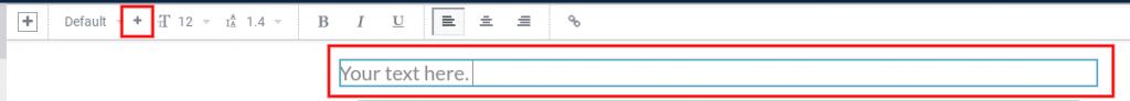 Import font - text toolbar