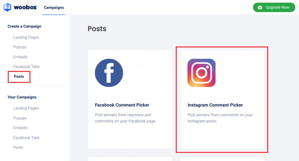 Posts - Instagram comment picker
