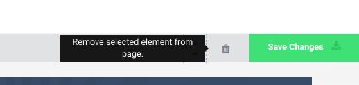 Delete element